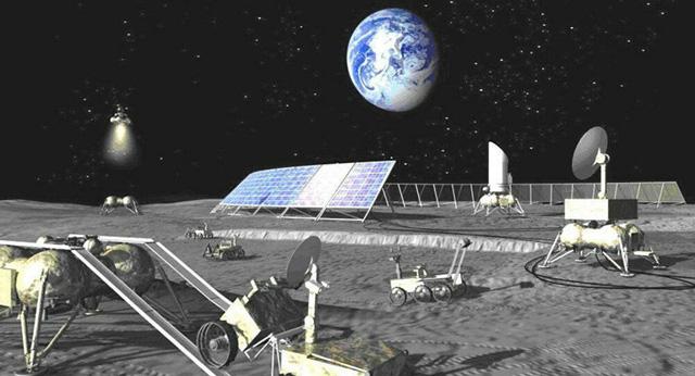 Kịch bản chạy đua lên Mặt Trăng và Sao Hỏa giữa hai liên minh hùng mạnh - Ảnh 1.