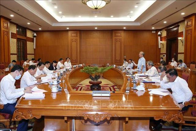 Bộ Chính trị làm việc với 11 đảng bộ trực thuộc Trung ương - Ảnh 1.