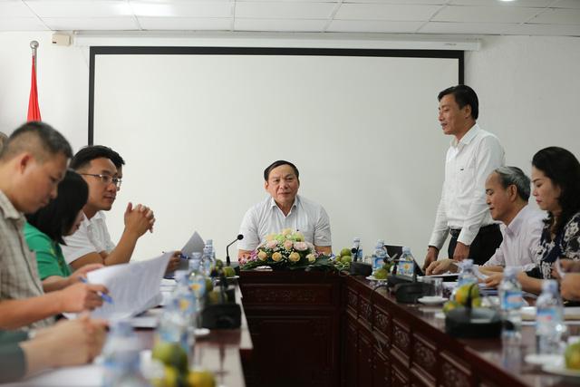 Thứ trưởng Nguyễn Văn Hùng làm việc với Cục Bản quyền tác giả - Ảnh 2.