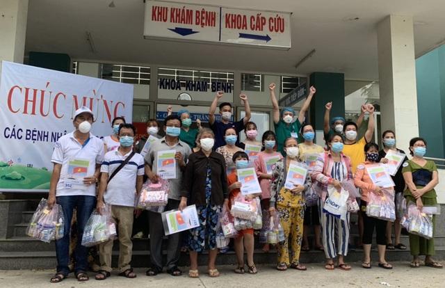 23 bệnh nhân Covid-19 điều trị tại Đà Nẵng đã khỏi bệnh và xuất viện - Ảnh 1.