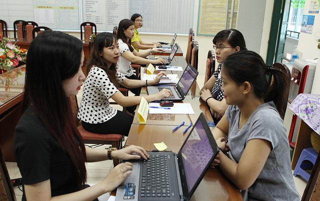 Thời gian tuyển sinh đầu cấp tiểu học, THCS và trường mầm non tại Hà Nội - Ảnh 1.