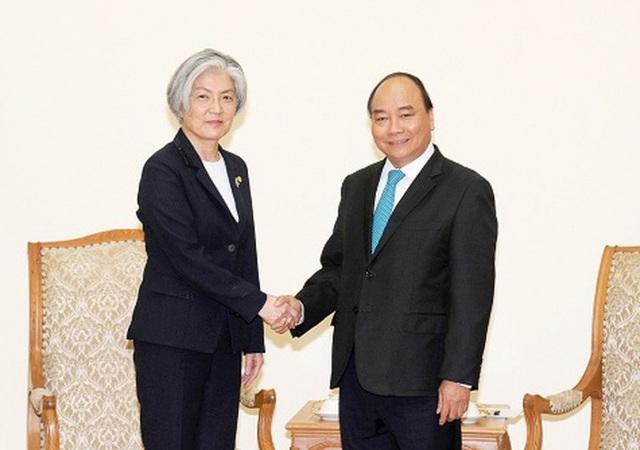 Chuyến thăm của Bộ trưởng Ngoại giao Hàn Quốc tới Việt Nam khẳng định quan hệ đối tác chiến lược giữa hai nước - Ảnh 1.