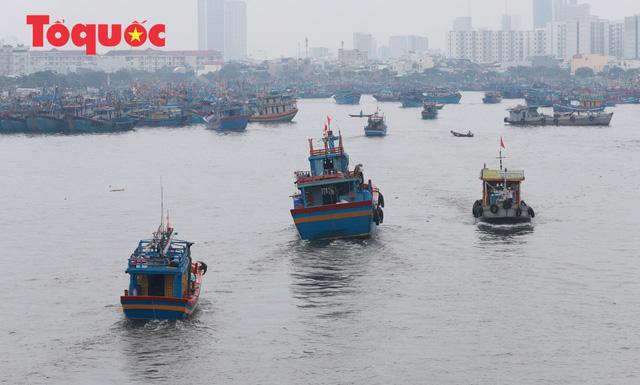 Người Đà Nẵng hối hả phòng chống bão số 5 và mưa lớn - Ảnh 8.