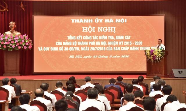 Bí thư Hà Nội yêu cầu giải quyết dứt điểm đơn thư tố cáo tổ chức đảng, đảng viên liên quan đến công tác nhân sự Đại hội - Ảnh 1.