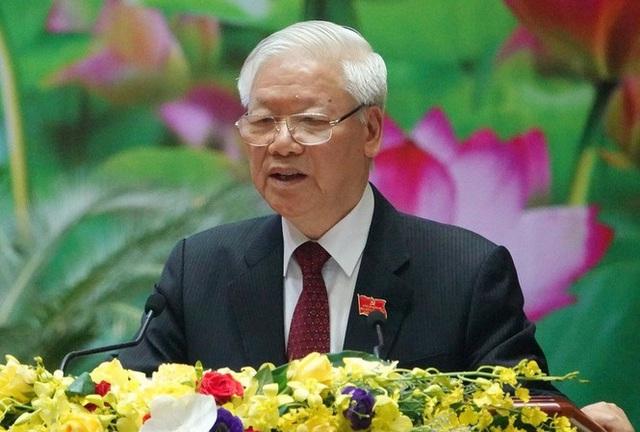 Tổng Bí thư, Chủ tịch nước: Quân đội bảo đảm môi trường 'trong ấm, ngoài êm' cho đất nước - Ảnh 1.