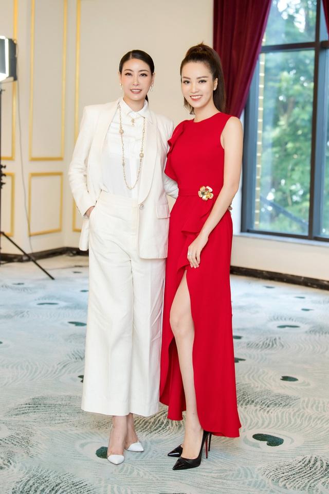 Á hậu Thụy Vân đọ sắc cùng Hà Kiều Anh tại Hoa hậu Việt Nam  - Ảnh 5.