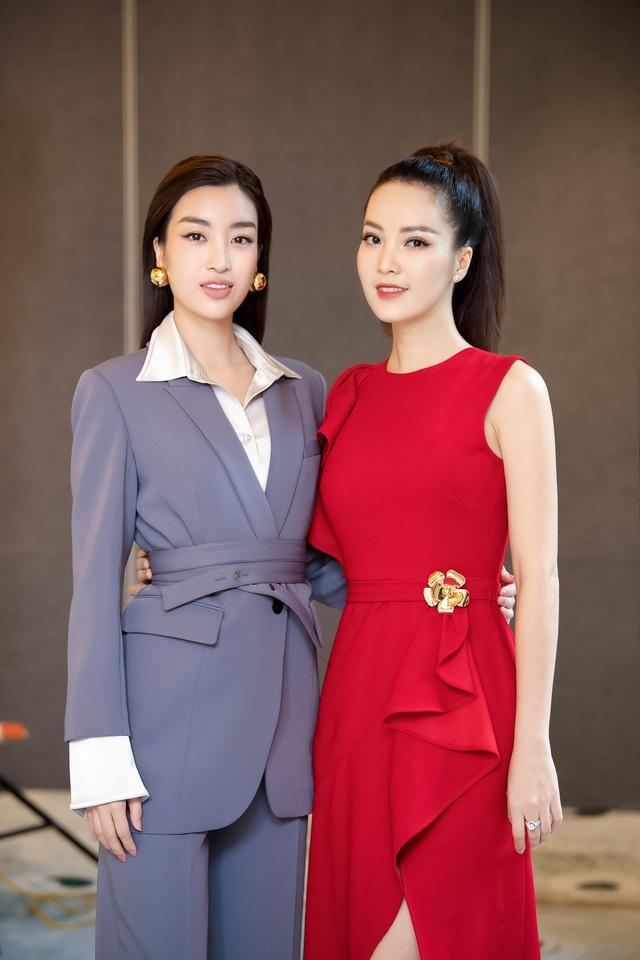 Á hậu Thụy Vân đọ sắc cùng Hà Kiều Anh tại Hoa hậu Việt Nam  - Ảnh 7.