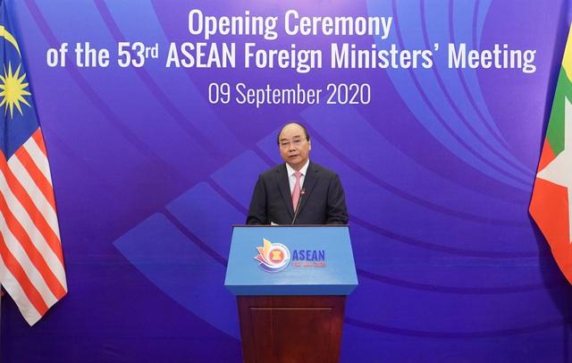 """Thủ tướng Nguyễn Xuân Phúc: Tinh thần chủ động và trách nhiệm đã trở thành """"thương hiệu"""" của ASEAN - Ảnh 1."""