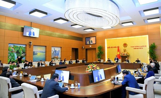 Ủy ban Thường vụ Quốc hội cho ý kiến về công tác chuẩn bị bầu cử ĐBQH khóa XV và bầu đại biểu HĐND các cấp nhiệm kỳ 2021-2026 - Ảnh 2.