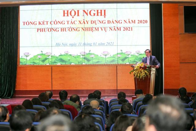 Đảng ủy Bộ VHTTDL tổng kết công tác xây dựng Đảng năm 2020 - Ảnh 4.