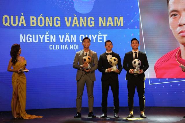 Văn Quyết giành danh hiệu Quả bóng Vàng 2020 - Ảnh 1.