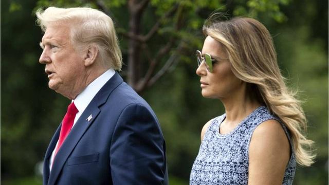 Bà Melania Trump lần đầu lên tiếng về bạo loạn tòa nhà Quốc hội Mỹ - Ảnh 1.