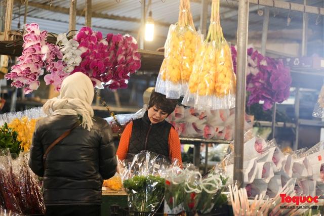 Nhộn nhịp chợ hoa đêm ngày đầu tháng Chạp - Ảnh 11.