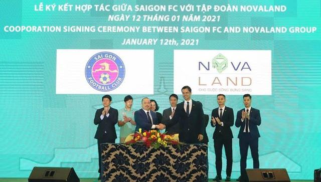 Novaland hỗ trợ Sài Gòn FC phát triển bền vững và vươn tầm quốc tế - Ảnh 1.