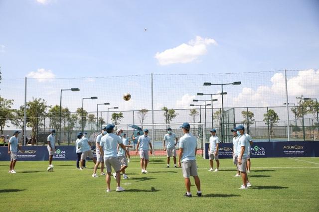Novaland hỗ trợ Sài Gòn FC phát triển bền vững và vươn tầm quốc tế - Ảnh 2.