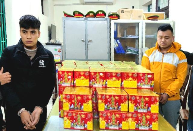 Cục QLTT Bắc Ninh phát hiện, thu giữ hơn 100 bệ pháo hoa nổ - Ảnh 1.