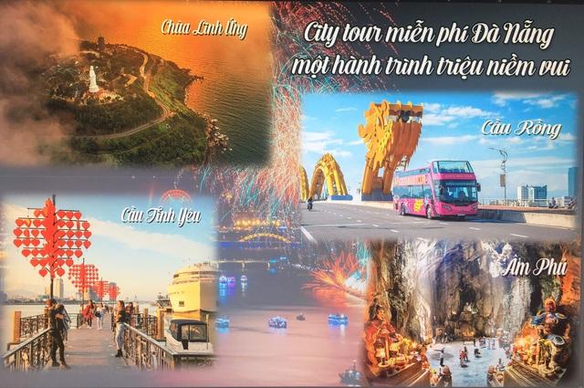 Đến Đà Nẵng, du khách sẽ được trải nghiệm City tour miễn phí - Ảnh 1.