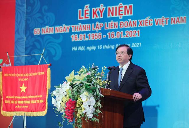 Liên đoàn Xiếc Việt Nam kế tục xứng đáng sự nghiệp của các thế hệ đi trước, tiếp tục đạt được những thành tựu mới - Ảnh 1.