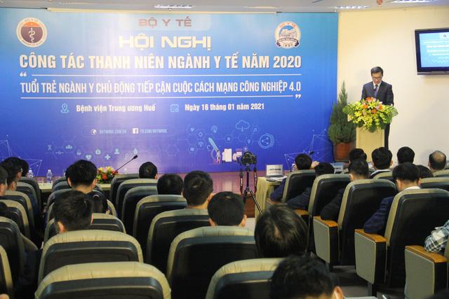 """Phát động phong trào cán bộ, đoàn viên y tế tham gia """"Mạng kết nối y tế Việt Nam"""" - Ảnh 1."""