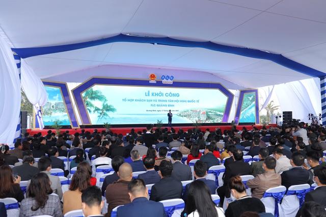 Khởi công xây dựng Tổ hợp khách sạn và Trung tâm Hội nghị quốc tế Quảng Bình - Ảnh 1.
