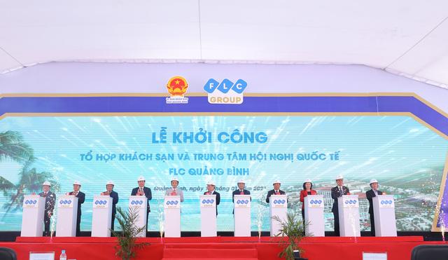 Khởi công xây dựng Tổ hợp khách sạn và Trung tâm Hội nghị quốc tế Quảng Bình - Ảnh 2.