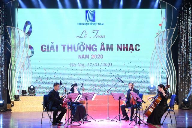 78 tác phẩm được trao Giải thưởng Âm nhạc năm 2020 - Ảnh 2.
