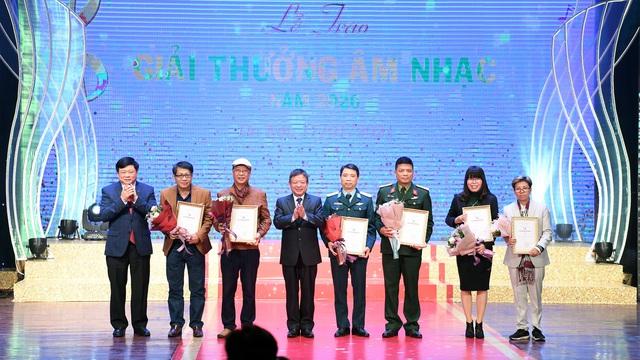 78 tác phẩm được trao Giải thưởng Âm nhạc năm 2020 - Ảnh 1.