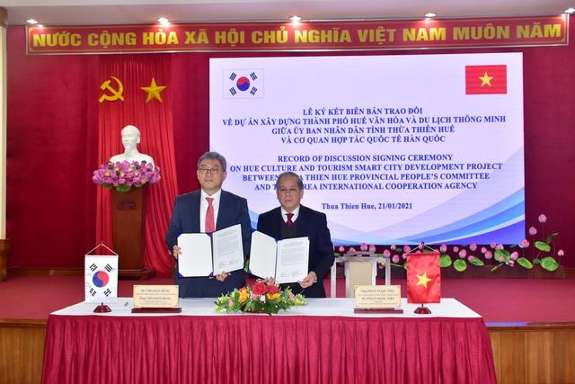 KOICA tài trợ 13 triệu USD để xây dựng TP Huế văn hóa và du lịch thông minh - Ảnh 1.