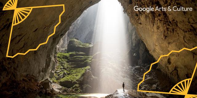 Bộ ảnh hang Sơn Đoòng nổi bật trên Google Arts & Culture - Ảnh 1.