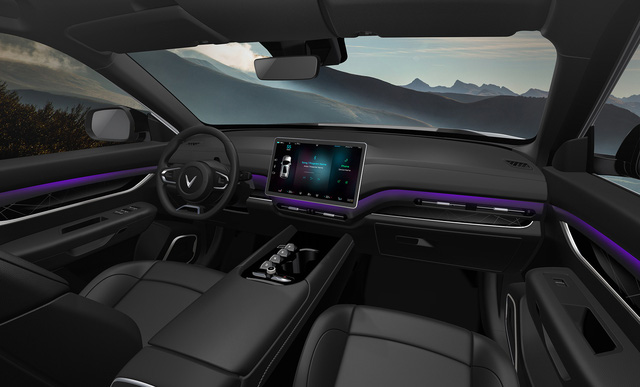 VinFast ra mắt 3 dòng ô tô điện tự lái – khẳng định tầm nhìn trở thành hãng xe điện thông minh toàn cầu - Ảnh 10.