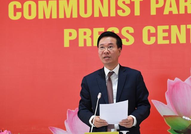 Họp báo trước khai mạc Đại hội XIII của Đảng: Thông tin nhiều nội dung quan trọng  - Ảnh 5.