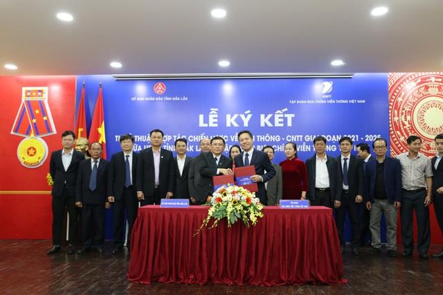 UBND tỉnh Đắk Lắk đánh giá cao vai trò của VNPT trong phát triển viễn thông, CNTT - Ảnh 1.