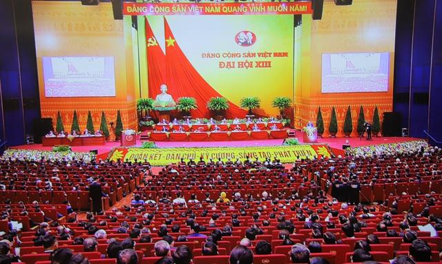 Thảo luận về các văn kiện Đại hội XIII: Sôi nổi, thẳng thắn, dân chủ - Ảnh 1.