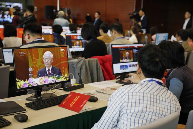 Đại hội Đảng XIII dưới ống kính của các phóng viên quốc tế - Ảnh 6.