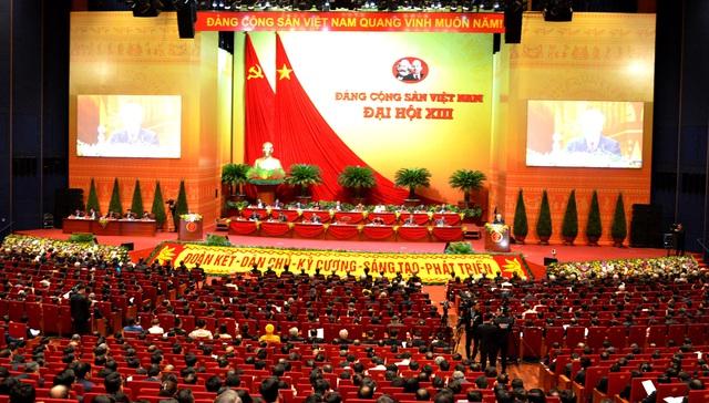 Đại hội XIII của Đảng thể hiện bản lĩnh, ý chí kiên cường và quyết tâm tiến tới mục tiêu dân giàu, nước mạnh, dân chủ, công bằng, văn minh - Ảnh 1.