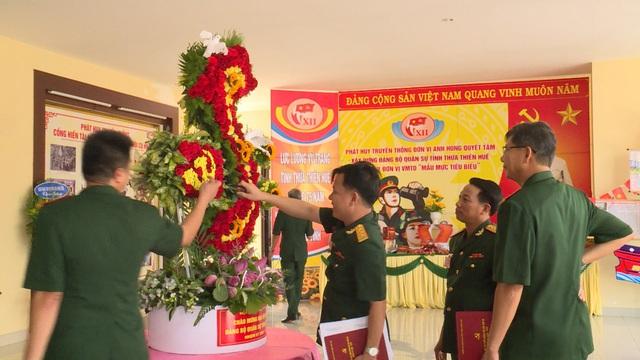 Lực lượng vũ trang Thừa Thiên Huế tin tưởng, kỳ vọng vào Đại hội XIII của Đảng - Ảnh 2.