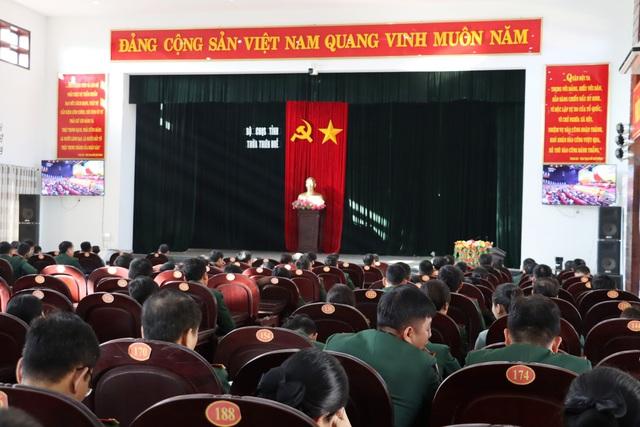 Lực lượng vũ trang Thừa Thiên Huế tin tưởng, kỳ vọng vào Đại hội XIII của Đảng - Ảnh 1.