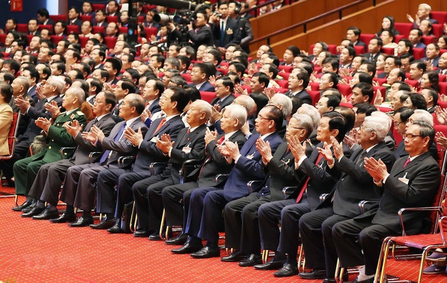 Đại hội XIII của Đảng thể hiện bản lĩnh, ý chí kiên cường và quyết tâm tiến tới mục tiêu dân giàu, nước mạnh, dân chủ, công bằng, văn minh - Ảnh 2.