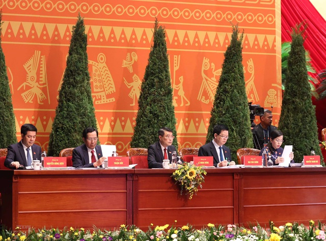 Đại hội XIII của Đảng thể hiện bản lĩnh, ý chí kiên cường và quyết tâm tiến tới mục tiêu dân giàu, nước mạnh, dân chủ, công bằng, văn minh - Ảnh 3.