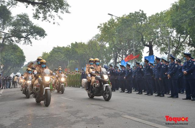 Lễ phát động ra quân Năm An toàn giao thông 2021 - Ảnh 7.