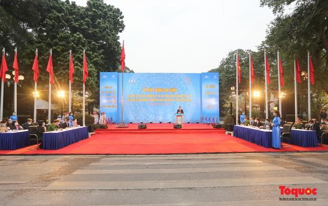 Lễ phát động ra quân Năm An toàn giao thông 2021 - Ảnh 1.