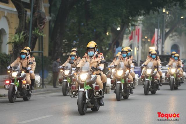 Lễ phát động ra quân Năm An toàn giao thông 2021 - Ảnh 8.