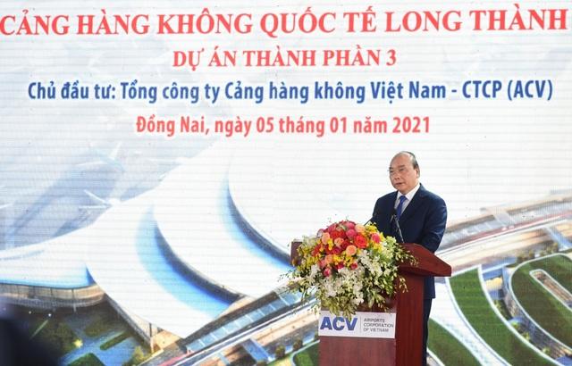 Thủ tướng phát lệnh khởi công Cảng hàng không quốc tế Long Thành - Ảnh 1.