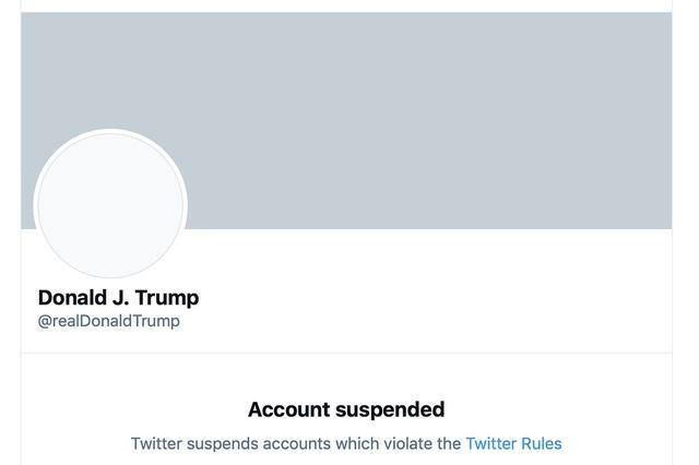 Nguồn cơn khiến Twitter ngay lập tức xóa bỏ tài khoản của Tổng thống Trump? - Ảnh 1.