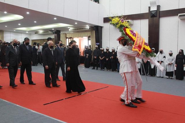 Lãnh đạo Đảng, Nhà nước đến viếng nguyên Phó Thủ tướng Trương Vĩnh Trọng - Ảnh 3.