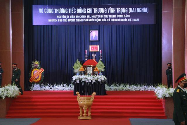 Lãnh đạo Đảng, Nhà nước đến viếng nguyên Phó Thủ tướng Trương Vĩnh Trọng - Ảnh 1.