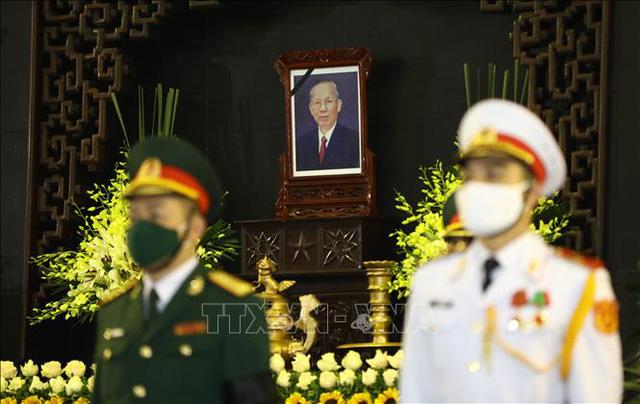 Lãnh đạo Đảng, Nhà nước đến viếng nguyên Phó Thủ tướng Trương Vĩnh Trọng - Ảnh 8.