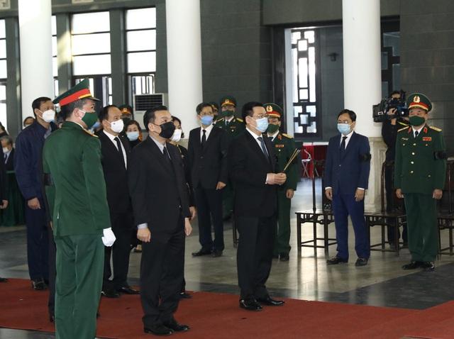 Lãnh đạo Đảng, Nhà nước đến viếng nguyên Phó Thủ tướng Trương Vĩnh Trọng - Ảnh 9.