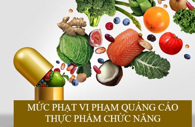 Hà Nội: Xử phạt 12,5 triệu đồng do quảng cáo thực phẩm không phù hợp - Ảnh 1.