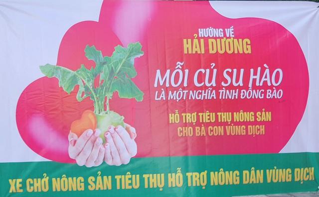 """Người Đà Nẵng """"giải cứu"""" nông sản cho Hải Dương: """"Mỗi một củ su hào là một nghĩa tình đồng bào"""" - Ảnh 6."""